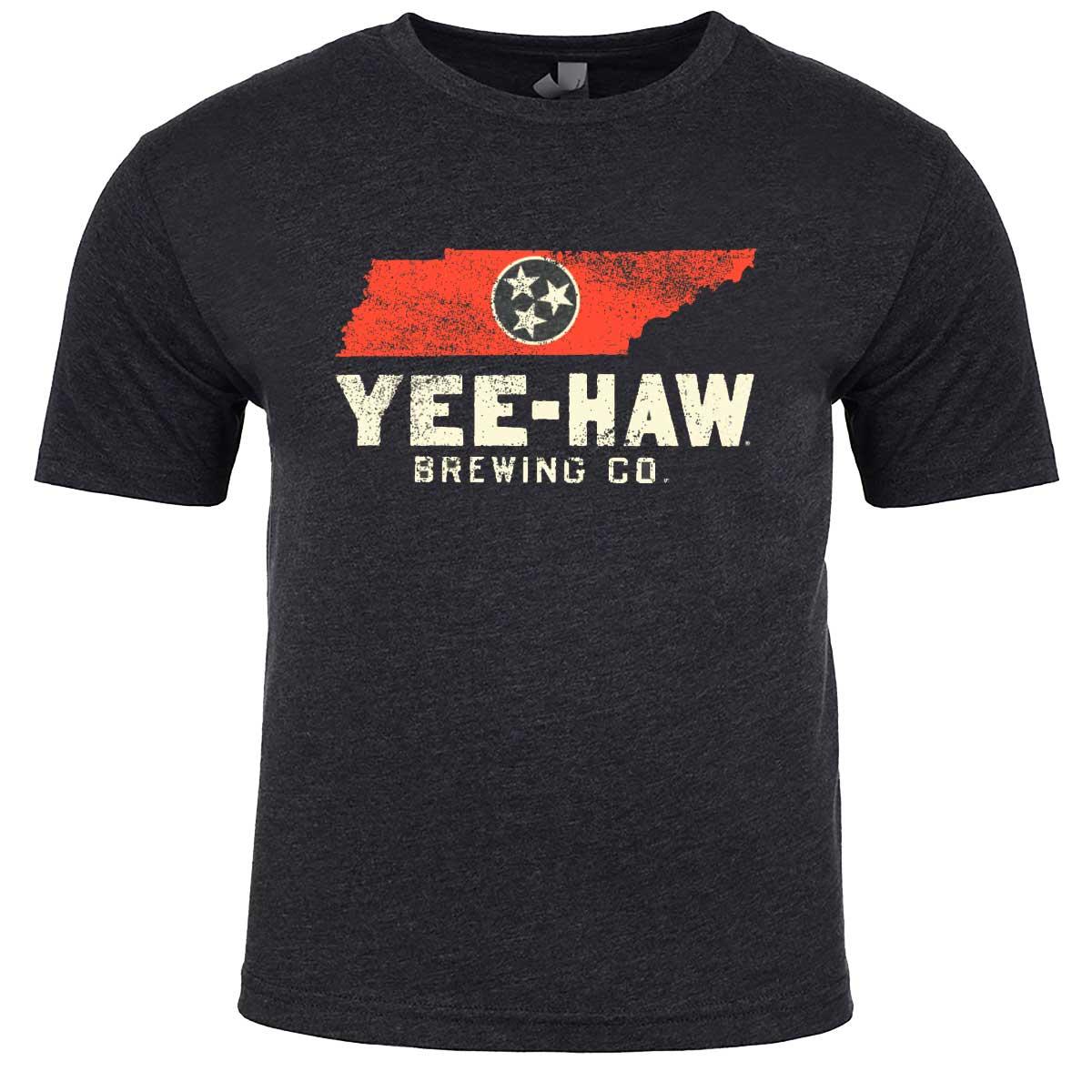 Yee-Haw TN State Tee Front